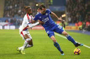 Christian Fuchs is happy with Leicester's pre-season training camp in France, saying 'everybody's really putting a shift in.'