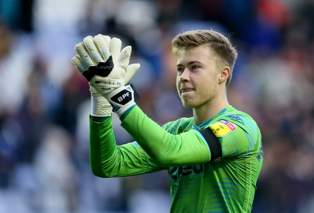 Burnley could move for Leeds United goalkeeper Bailey Peacock-Farrell if either Joe Hart or Tom Heaton depart.
