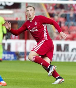 Lewis Ferguson scored with the last kick of the ball to earn Aberdeen victory in Finland and ensure they progress in the Europa League qualifiers.