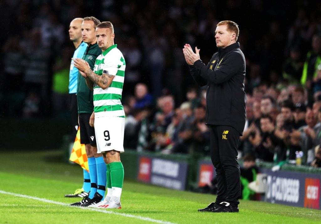 Forward Leigh Griffiths is hoping to play a key role as Celtic bid to make it through to the Champions League group stage.