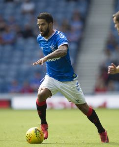 Daniel Candeias has been omitted from Rangers' list of registered players for their Europa League first-round encounters with St Joseph's of Gibraltar.