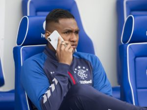 Managing director Stewart Robertson says there have been no offers made for Rangers forward Alfredo Morelos.