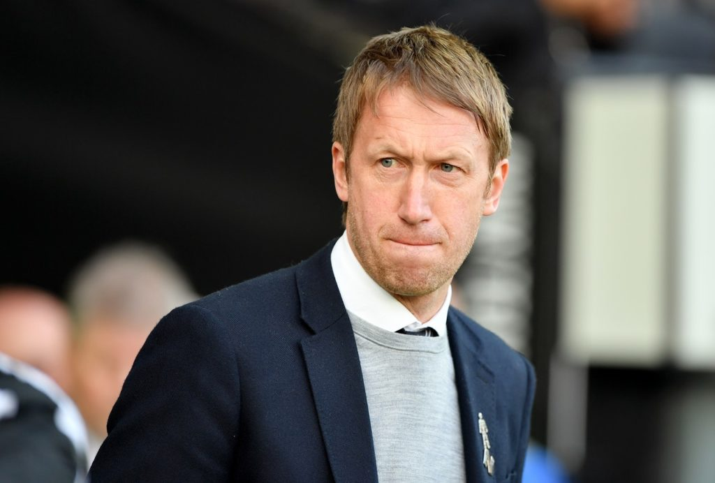 Graham Potter happy with the way Brighton are progressing.