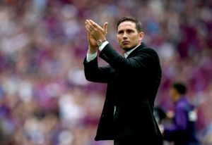 New Chelsea boss Frank Lampard says he 'will always have an eye on the academy' after putting pen-to-paper on a three-year deal.