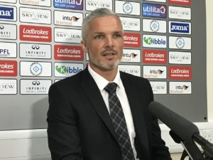 Jim Goodwin feels his patience has been rewarded in the perfect way after taking on the St Mirren job 12 months after opting not to pursue a return to Paisley.