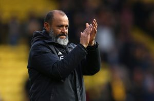 Wolves manager Nuno Espirito Santo says the club are not thinking about a challenge for the top six this season.