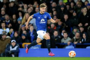 Everton defender Luke Garbutt and attacker Korede Adedoyin have joined Ipswich and Hamilton on respective season-long loan deals.