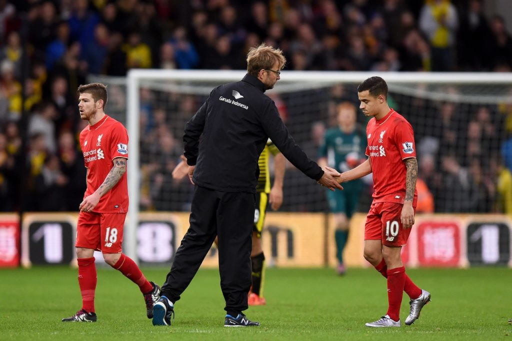 Jurgen Klopp says he would have Philippe Coutinho back at Liverpool but the finances involved mean a deal will not happen.