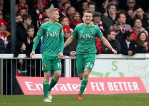 Swansea have signed Watford defender Ben Wilmoton a season-long loan.