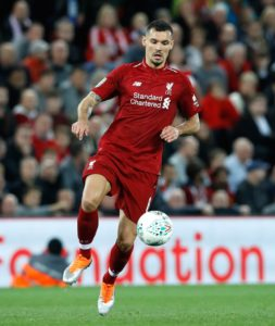 Dejan Lovren tipped to join AS Roma.
