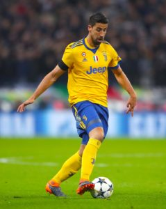 Juventus midfielder Sami Khedira is being linked with a move away, with Wolves in the Premier League said to keen on him.