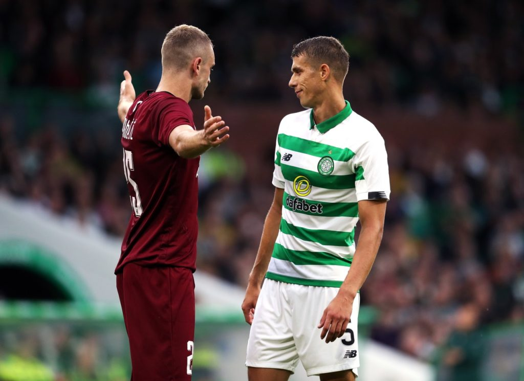 Jozo Simunovic will miss the first two matches of the Ladbrokes Premiership season following his recent red card in a friendly in Switzerland.