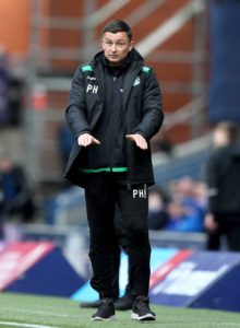 Hibernian boss Paul Heckingbottom believes the club could be on the brink of something special after Ronald Gordon's takeover.