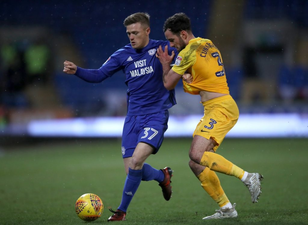 MK Dons have announced the signing of Rhys Healey from Cardiff for an undisclosed fee.