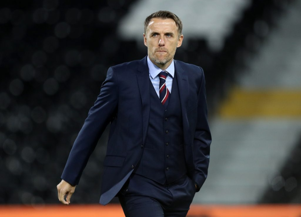 Phil Neville says England should feel 'proud' of their efforts despite losing 2-1 to the United States in the World Cup semi-finals on Tuesday.