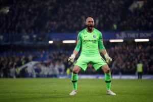 Chelsea keeper Willy Caballero says it is 'fantastic' that Frank Lampard is now the club's head coach.