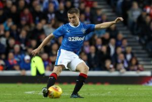 Jordan Rossiter looks to have played his last game for Rangers after joining Fleetwood on a season-long loan.