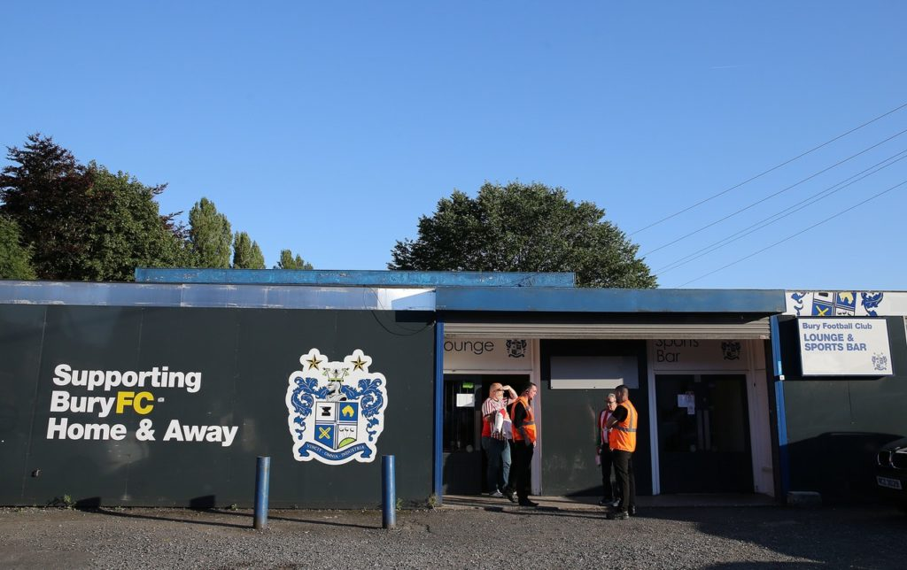 Bury face the threat of expulsion from the English Football League if they do not meet the insolvency policy.
