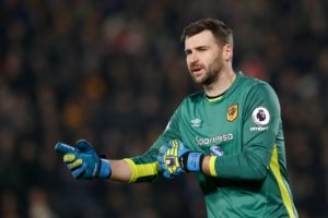 Wigan Athletic have confirmed they have signed goalkeeper David Marshall on a two-year contract.