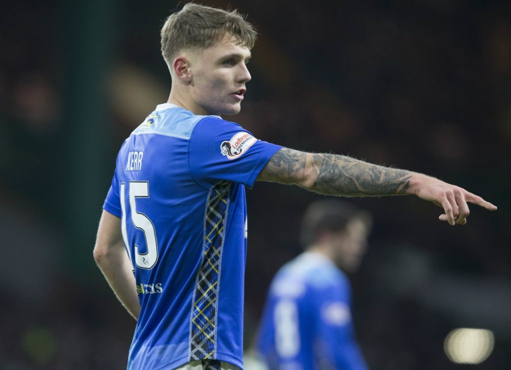 Jason Kerr has been appointed the new St Johnstone captain.