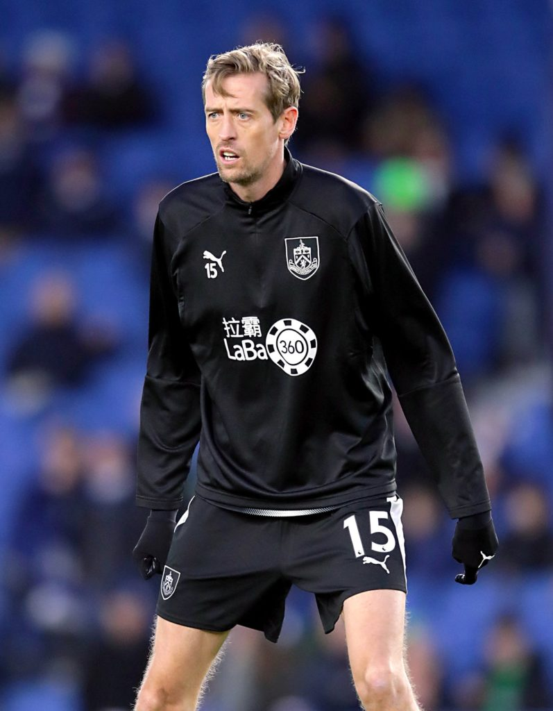 Peter Crouch, who spent the second half of last term with Burnley, has announced his retirement from football.