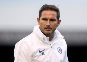 Frank Lampard says he is delighted to be back at Stamford Bridge as he continues to adjust to life as Chelsea manager.