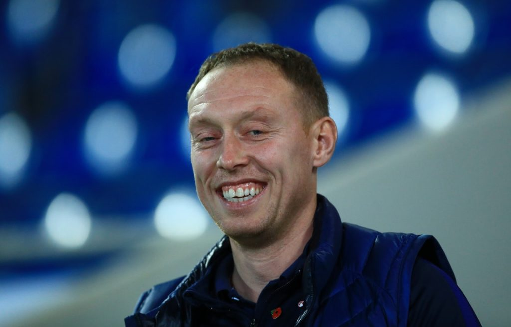 Swansea City boss Steve Cooper has revealed he is targeting a returning to the Premier League in his first season in charge.