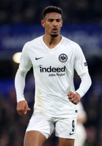 Eintracht Frankfurt striker Sebastien Haller is en route to London to undergo a medical ahead of a proposed move to West Ham, the Bundesliga club has announced.