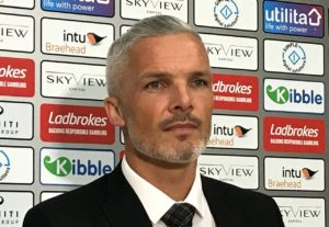 St Mirren manager Jim Goodwin insists his misfiring forwards need to find their scoring touch to have any chance of salvaging their Betfred Cup campaign.