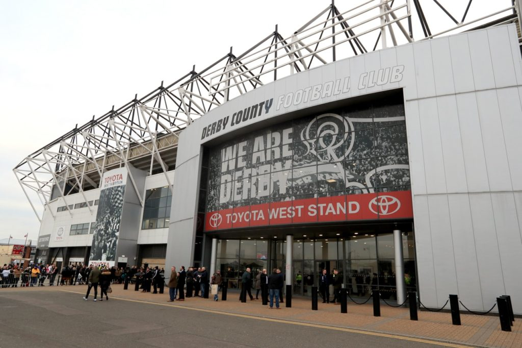The Football Supporters' Federation has sympathised with Derby fans following their criticism of the club's refreshment policy for Pride Park.