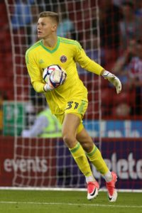 Scunthorpe have signed goalkeeper Jake Eastwood on a season-long loan from Sheffield United.
