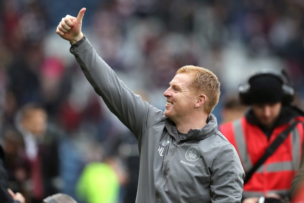 Celtic coach Neil Lennon has described his team as fantastic following their 3-1 win over Sarajevo on Tuesday night.