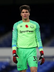 Reading have confirmed the signing of Everton goalkeeper Joao Virginia on a season-long loan deal.