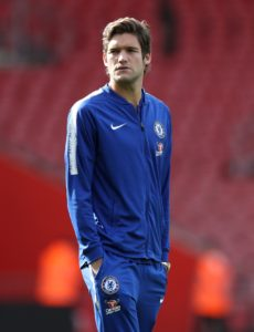 Chelsea defender Marcos Alonso has rubbished claims that he could leave Stamford Bridge this summer.