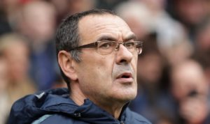 The pressure is on Maurizio Sarri to deliver at Juve.