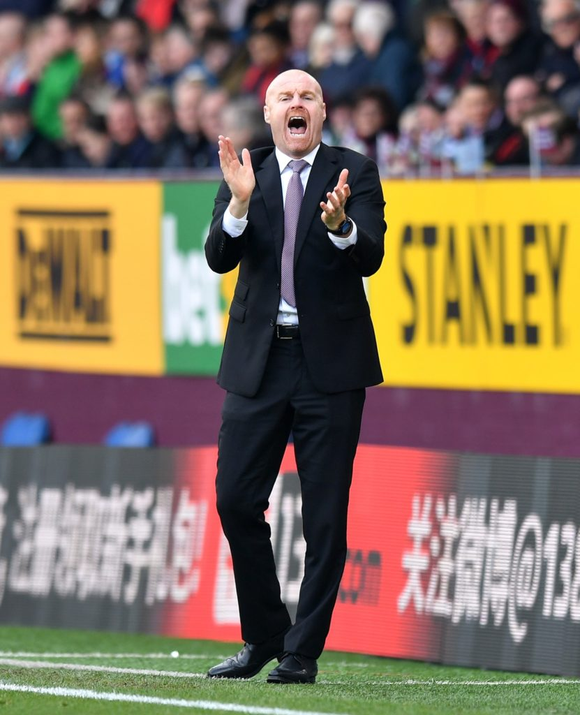 Sean Dyche says Drinkwater will need to fight for place.