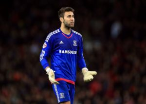 Middlesbrough goalkeeper Tomas Mejias admits he felt like he was returning home after signing a two-year deal at the Riverside.