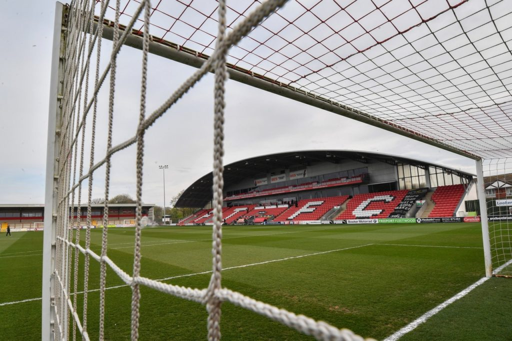 Fleetwood defender Lewis Baines has completed a permanent move to Chorley.