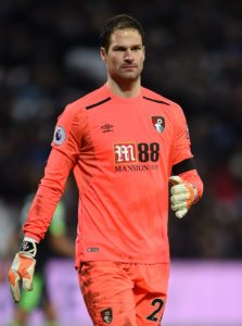 Bournemouth goalkeeper Asmir Begovic could be offered a route out of the club following reports Greek side Olympiakos are ready to offer him a deal.