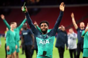 Paris Saint-Germain are believed to be winning the race to sign Tottenham defender Danny Rose.