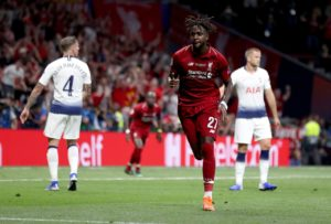 Divock Origi claims Liverpool are even hungrier for silverware after last season's Champions League success.