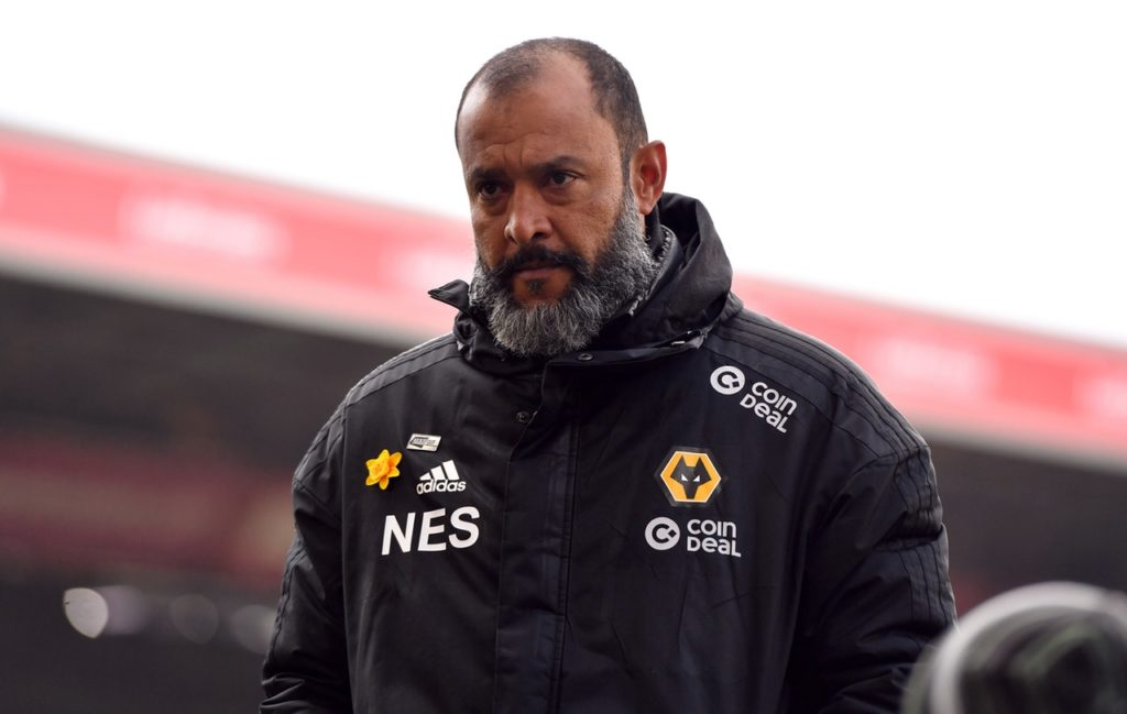 Wolves boss Nuno Espirito Santo is on Arsenal's radar.