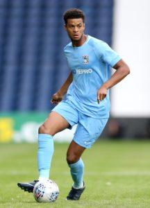 Coventry youngster Jordon Thompson has joined Vanarama National League side Boreham Wood on a season-long loan.