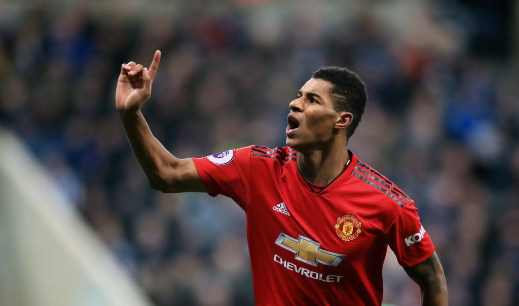 Marcus Rashford has signed a new four-year contract at Manchester United.