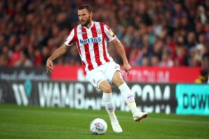 Burnley are set to announce the signing of Stoke City's out-of-favour Dutch international left back Erik Pieters.