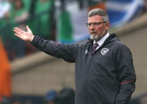 Hearts manager Craig Levein believes perseverance paid off after his side claimed a late 2-1 win over Stenhousemuir in the Betfred Cup.