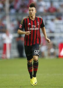 Chinese Super League outfit Shanghai Shenhua have signed Roma striker Stephan El Shaarawy in a deal worth £14million.
