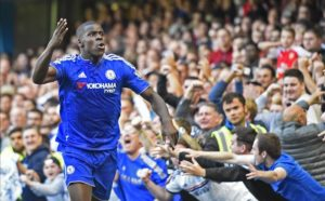 Kurt Zouma has said he is happy with Chelsea and is determined to stay and fight for his place at Stamford Bridge.
