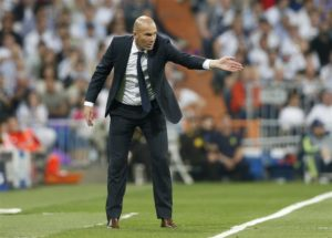 Real Madrid manager Zinedine Zidane is calling for patience from the supporters.