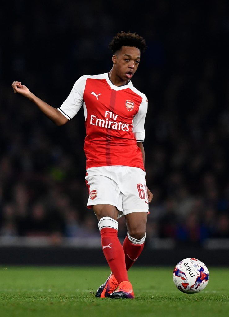 Arsenal playmaker Mesut Ozil has good advice for Joe Willock and Reiss Nelson.